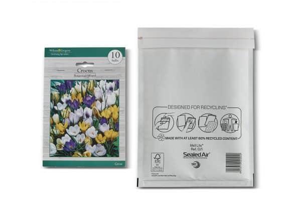 Mail Lite® White Padded Envelopes Size D/1
