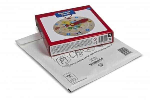 Mail Lite® White Padded Envelopes Size E/2