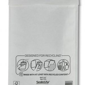 Mail Lite® White Padded Envelopes Size F/3