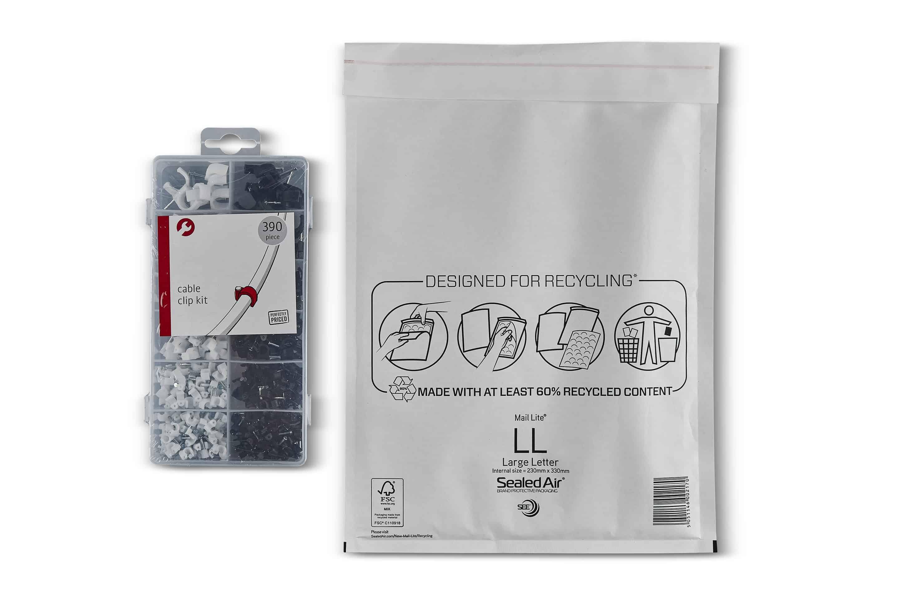 Mail Lite® White Padded Envelopes Size LL