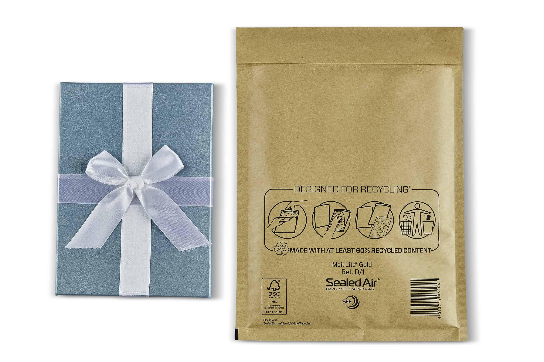 Mail Lite® Gold Padded Envelopes Size D/1