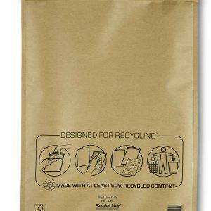 Mail Lite® Gold Padded Envelopes Size J/6