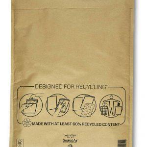 Mail Lite® Gold Padded Envelopes Size K/7
