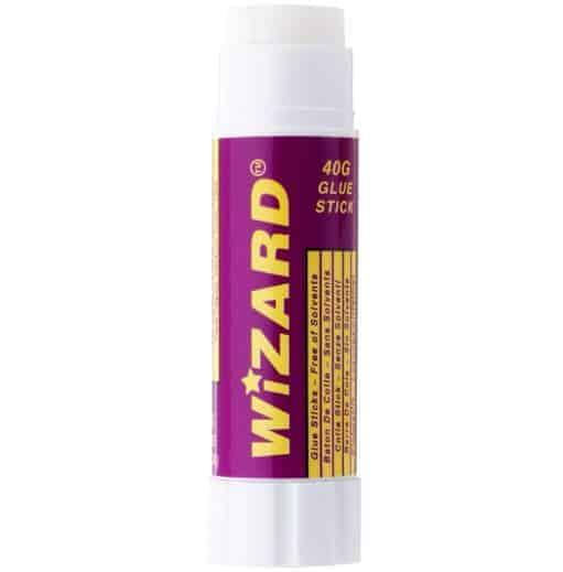 Wizard Solvent Free Glue Sticks 40g