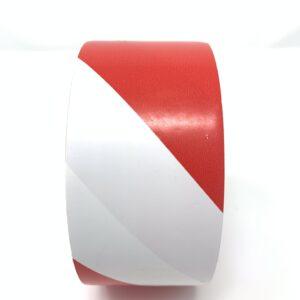 Gladiator Red & White Hazard Warning Tape