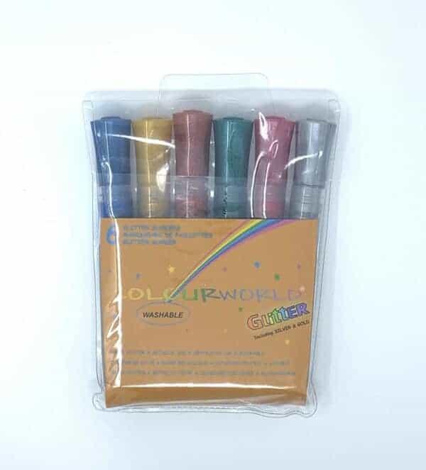 Colourworld Glitter Colouring Markers
