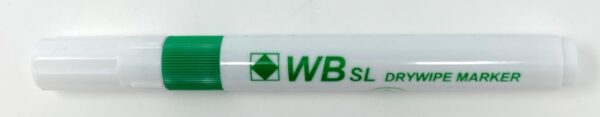 WB SL Green Whiteboard Markers