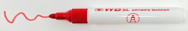 WB SL Red Whiteboard Pens