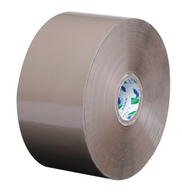 Umax Low Noise Extra Long Buff Brown Packing Tape 50mm x 150m