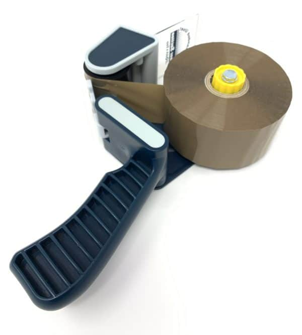 Umax Tape Dispenser with Brown Tape