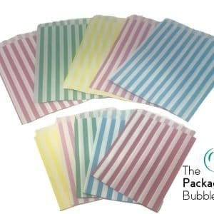 Mixed Pack Candy Stripe Paper Bags