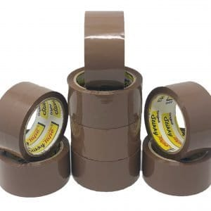 Stikky Tape Brown Packaging Tape