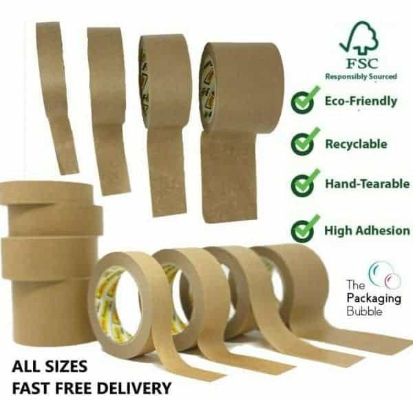 Recyclable Tape - Stikky Tape Kraft Paper Tape