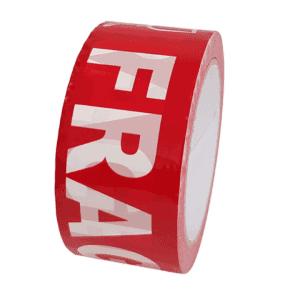 Polar Bear Red Fragile Packaging Tape